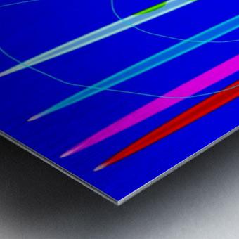 HorizonBlue Metal print