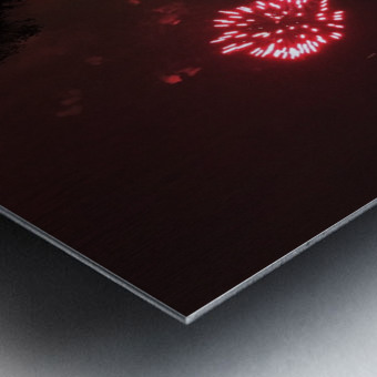 Lights54 Metal print