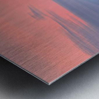 Rosy Retreat  Metal print