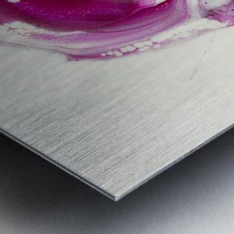 Magenta Sunrise Metal print