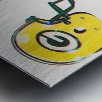 1988 Green Bay Packers vs. Chicago Metal print