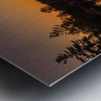 Peek Through Metal print