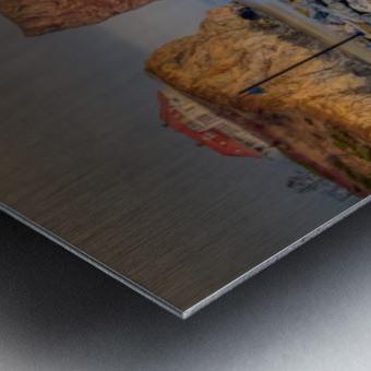 Rocher Perce et son Quai Impression metal