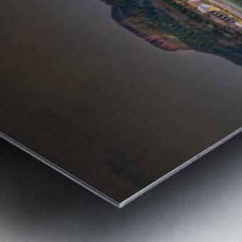 Panorama du quai de Perce Impression metal