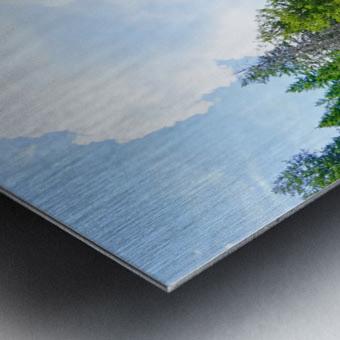 Back Country Waterfalls Metal print