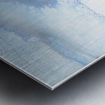 The Undoing Metal print