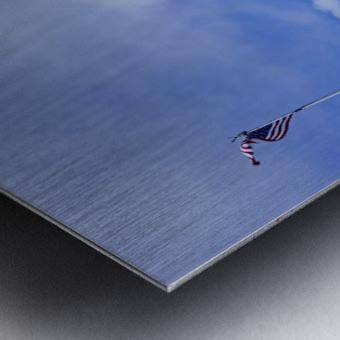 The Great Salt Lake 5 of 7 Metal print