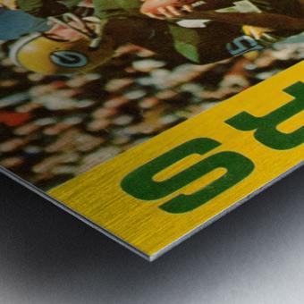 1966 Green Bay Packers Football Art Metal print