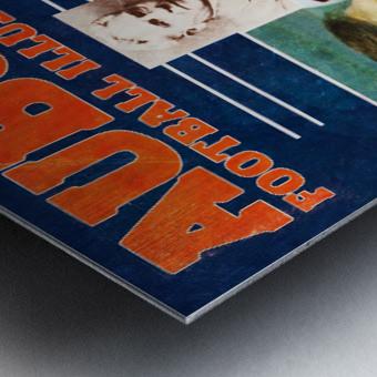 1981 Alabama vs. Auburn Program Cover Metal print