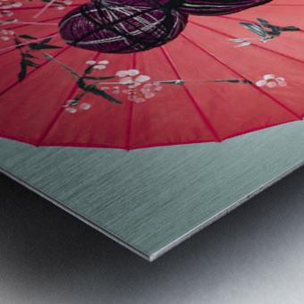 Knit II Metal print