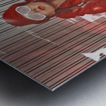 Funky Petroleum II Metal print