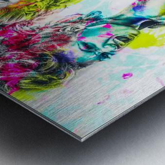 F_ck Metal print