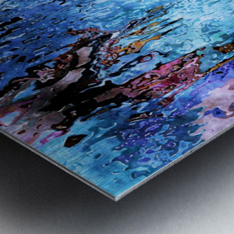 Icecapades Metal print