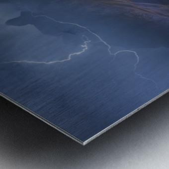 Bergwetter Metal print
