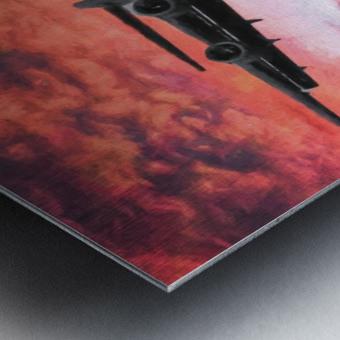 Soaring in the sky Metal print