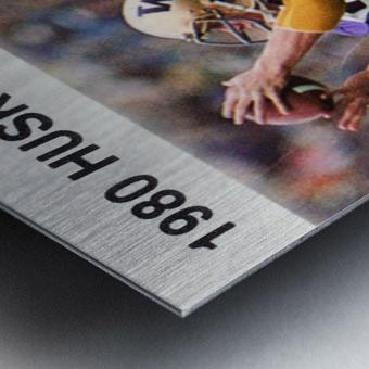 1980 Washington Huskies Football Poster Metal print