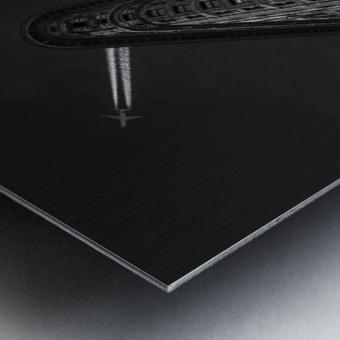 New York - Flatiron crossing Metal print