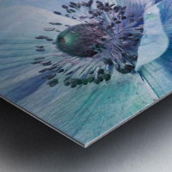 Shades of Blue by Priska Wettstein  Metal print