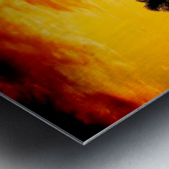 Fire in the Heavens Metal print