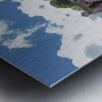 Castelnau Bretenoux Metal print