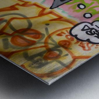 Art Graffiti Metal print