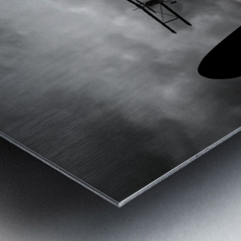 Air Pursuit  Metal print