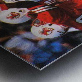 1985 Illinois State Redbirds Football Poster Metal print