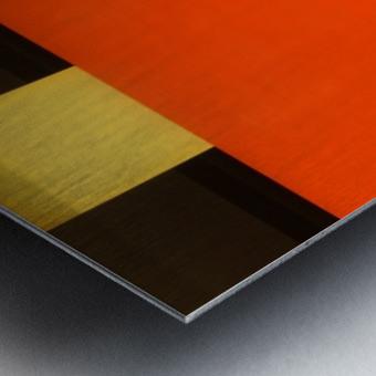 NOS Testscreen  03 by Huib Limberg  Metal print