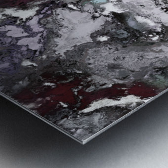 Close call Metal print