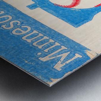 1967 Minnesota Twins Art Metal print