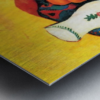 Still Life with Hyacinthe by Macke Impression metal