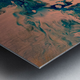 Joy Overflows Metal print