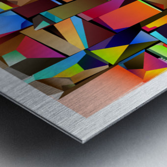 MDP2-V2 Metal print