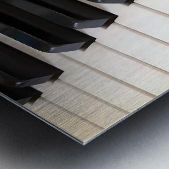 Piano Keys One Octave Plus Metal print