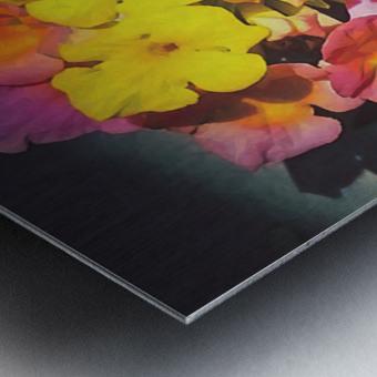 flowers art Metal print
