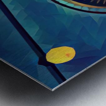 seattle space needle Metal print