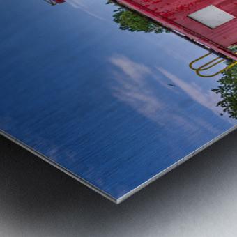 Norfolk & Western Caboose Metal print