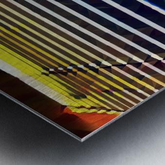 Window Blinds Metal print