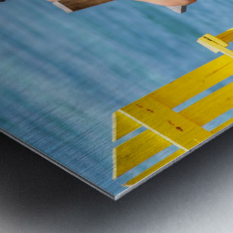 Ambergris Caye 4 Metal print