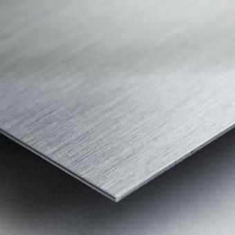 Aurore boreale 1 Metal print