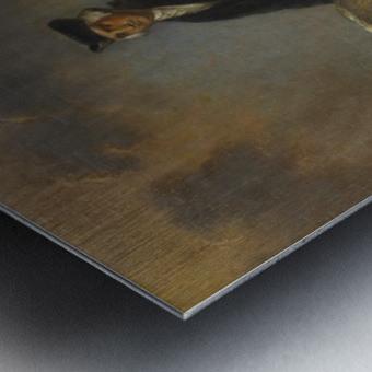 George Washington at Mount Vernon Metal print