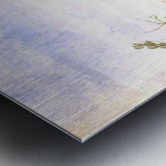 Antelope running Metal print