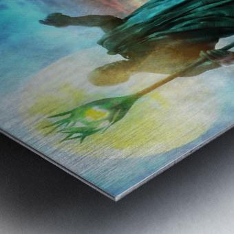 The Benevolent Light Metal print