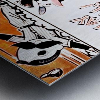 1954 Orioles Score Card Art Metal print