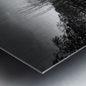 Flood in Paris Impression metal