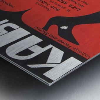 Polish Film Poster Cabaret Wiktor Gorka Metal print