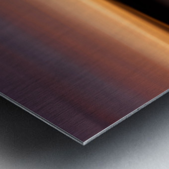 Sunset Motion Metal print