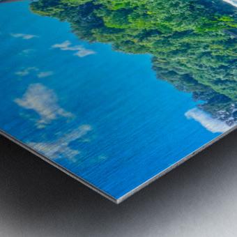 Perfect Day at Rhine Falls Switzerland Metal print