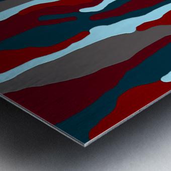 Bloodrain Metal print