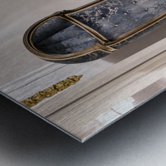 Nooks and Crannies Metal print